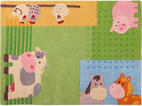 Haba teppich  Teppich Bauernhof | Kinderteppiche | Kinderzimmer | HABA International