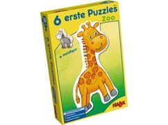 6 erste Puzzles – Zoo