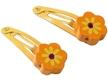 Hair clips Ringelblumen