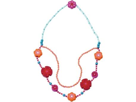 Necklace Mohnblumen