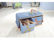 Building block Bench with foldable boxes