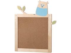 Tableau d'affichage Hibou des bois