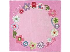 Teppich Blumenkranz
