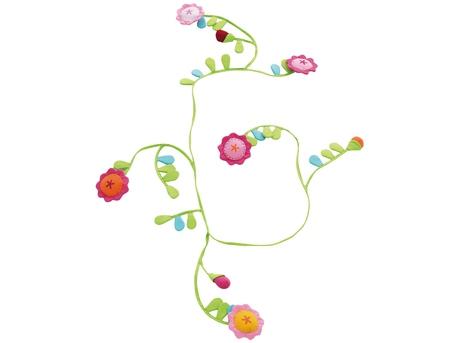 Fabric garland Flower Bower
