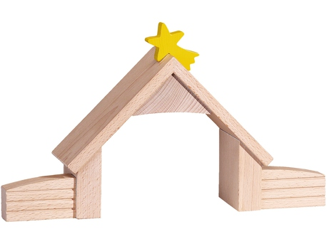 Stable with star