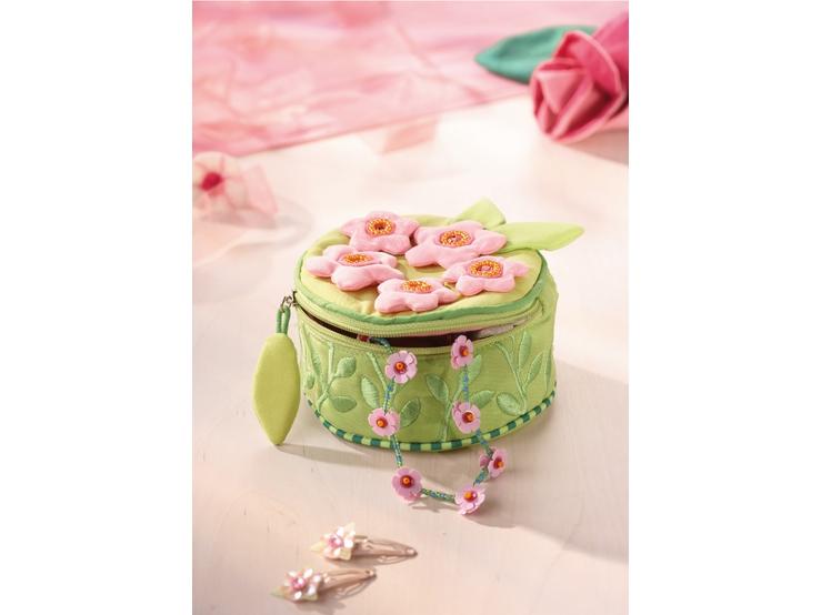 bo te bijoux fleurs de cerisier rangement des bijoux. Black Bedroom Furniture Sets. Home Design Ideas