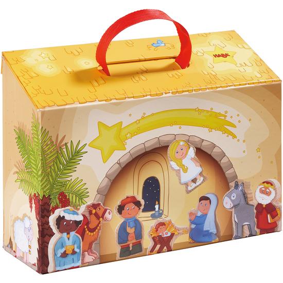 Weihnachtskrippe Für Kinder.Meine Erste Spielkrippe