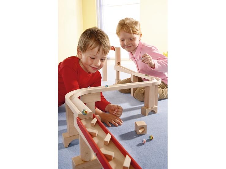 horizontalbahn klassische kugelbahn kugelbahn spielzeug haba erfinder f r kinder. Black Bedroom Furniture Sets. Home Design Ideas