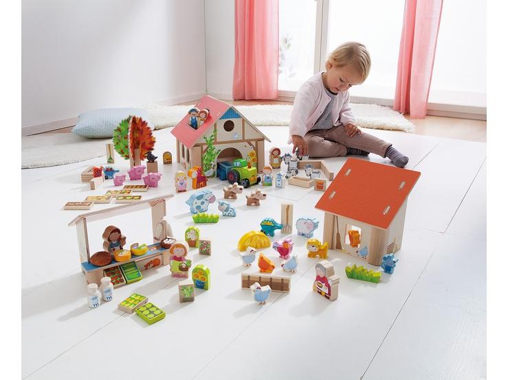 spielwelt antons bauernhof auf dem bauernhof themen serien haba erfinder f r kinder. Black Bedroom Furniture Sets. Home Design Ideas