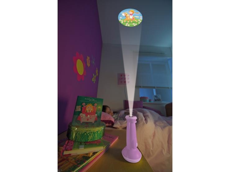 lampe de poche projecteur princesse lilou lampes pour enfants veilleuses chambre d 39 enfant. Black Bedroom Furniture Sets. Home Design Ideas
