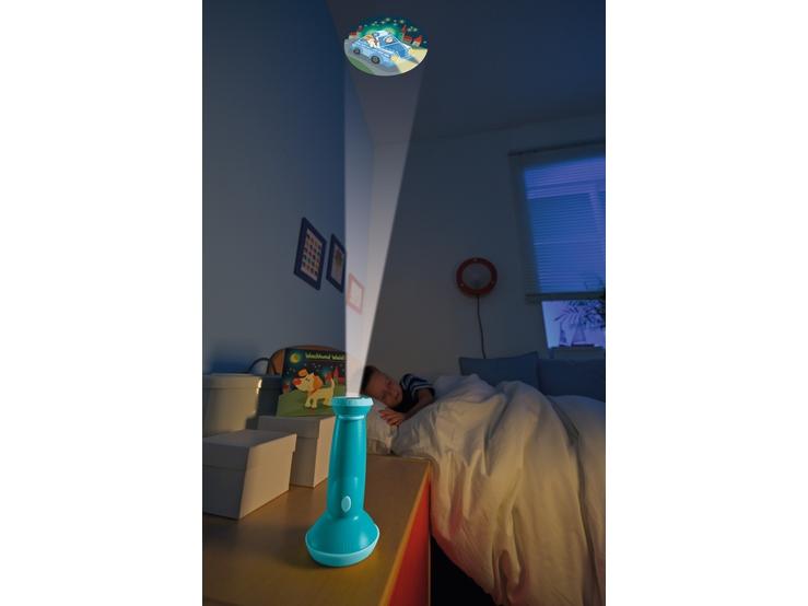 taschenlampen projektor wachhund waldi kinderlampen. Black Bedroom Furniture Sets. Home Design Ideas