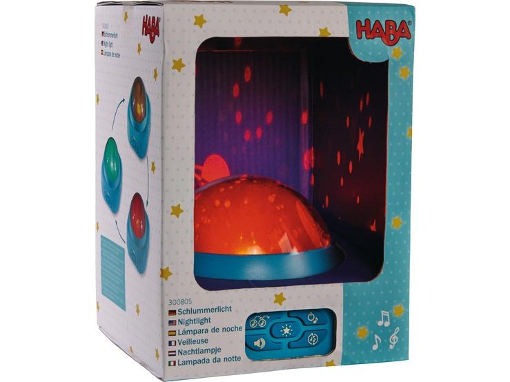 Schlummerlicht sternengalaxie kinderlampen for Haba kinderzimmer