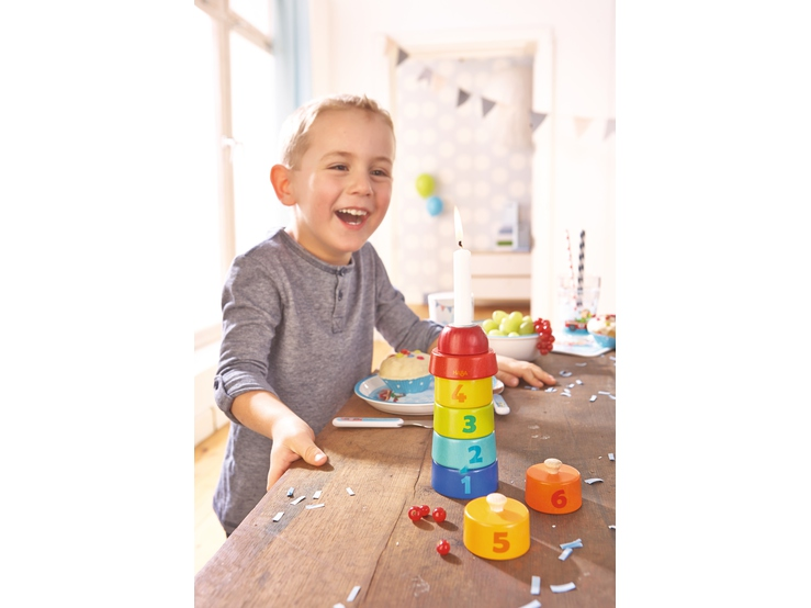 geburtstagsturm kindergeburtstag themen serien haba erfinder f r kinder. Black Bedroom Furniture Sets. Home Design Ideas