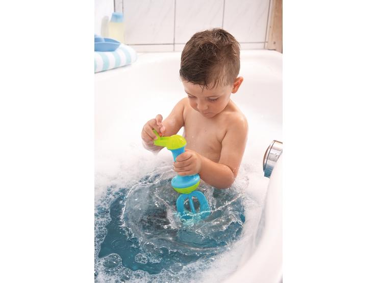 badeschaum schl ger blau wasserspielzeug spielzeug haba erfinder f r kinder. Black Bedroom Furniture Sets. Home Design Ideas
