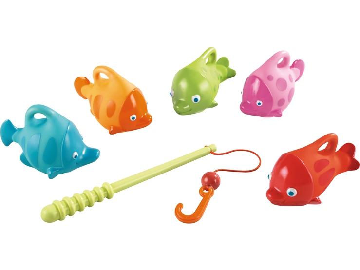 angelset spritzefische wasserspielzeug spielzeug haba erfinder f r kinder. Black Bedroom Furniture Sets. Home Design Ideas