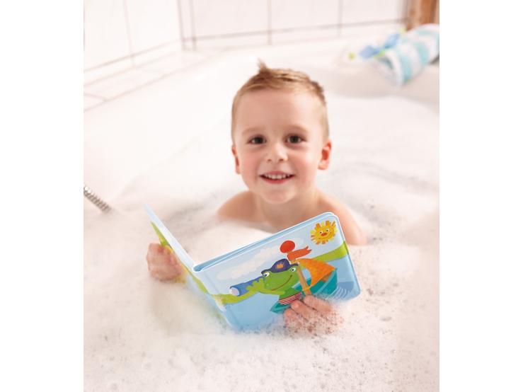 badebuch kapit n frosch wasserspielzeug spielzeug haba erfinder f r kinder. Black Bedroom Furniture Sets. Home Design Ideas