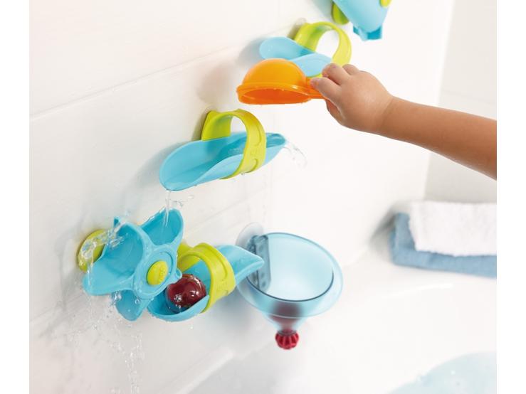 kugelbahn badespa wassertrichter wasserspielzeug spielzeug haba erfinder f r kinder. Black Bedroom Furniture Sets. Home Design Ideas