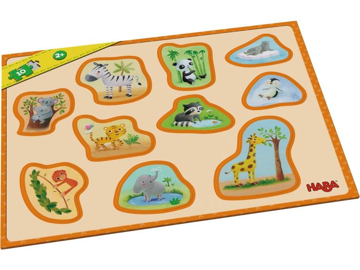 mon premier puzzle cadre b b s animaux puzzles pour. Black Bedroom Furniture Sets. Home Design Ideas
