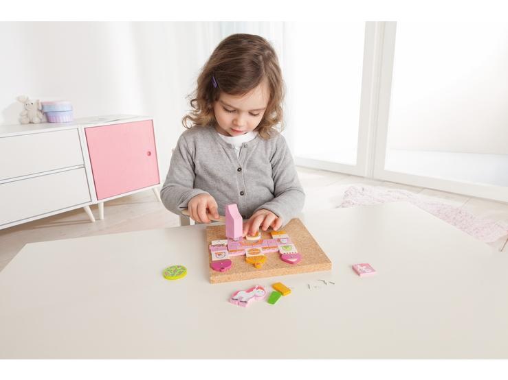 jeu de clous ch teau de contes de f es jeux de clous. Black Bedroom Furniture Sets. Home Design Ideas