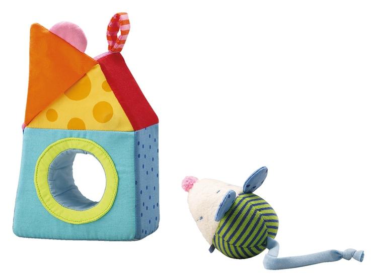 maus im haus stoffspielzeug f r babys haba frankreich. Black Bedroom Furniture Sets. Home Design Ideas